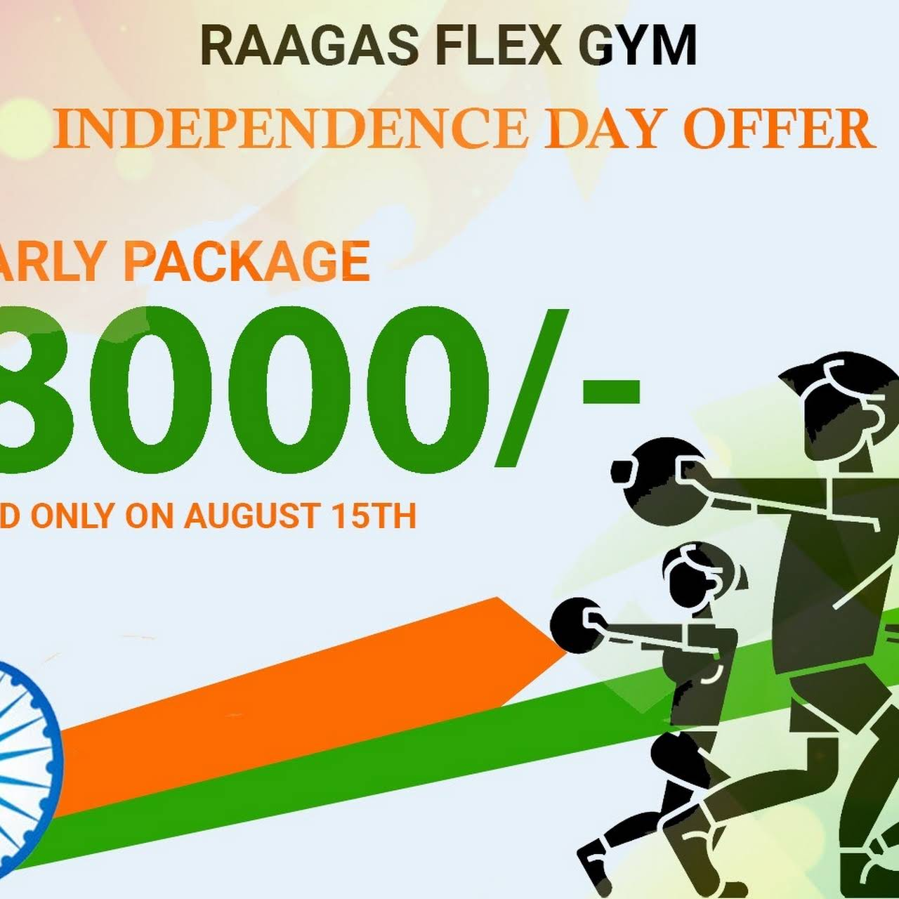 Raagas Flex Gym Unisex and Spa - Gym in Manikonda