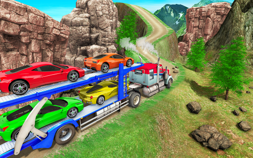 Real Truck Driving Simulator:Offroad Driving Game screenshots 12