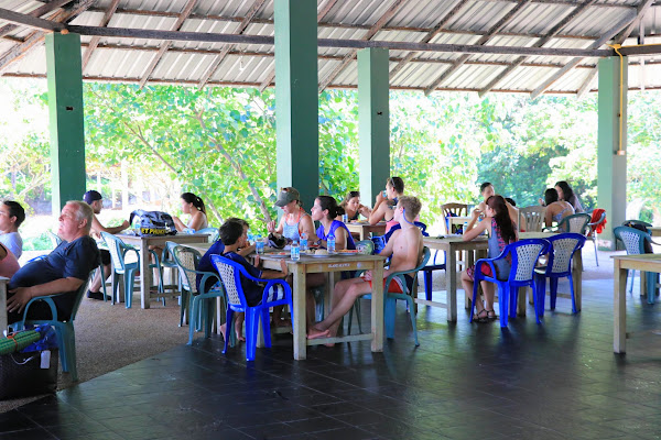 Enjoy a Thai style lunch in a restaurant on Yao Yai Island