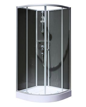 Cabine de douche intégrale Vérona 90 x 90 cm