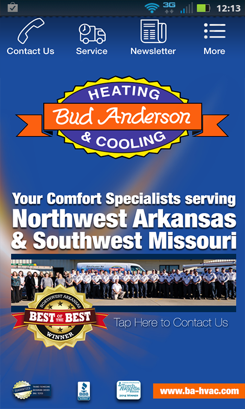 Bud Anderson Heating & Cooling  Android Apps On Google Play. City Of Austin Small Business. What Jobs Can I Get With A Business Degree. Equity Options Trading Causes Of Pancytopenia. Can Gastric Bypass Surgery Be Reversed. Funding Sources For Small Business. Home Security Cameras Systems. Waterfront Hotels Vancouver Bc. Fulfillment Software Small Business