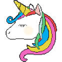 Unicorn Color By Number - Paint Book icon