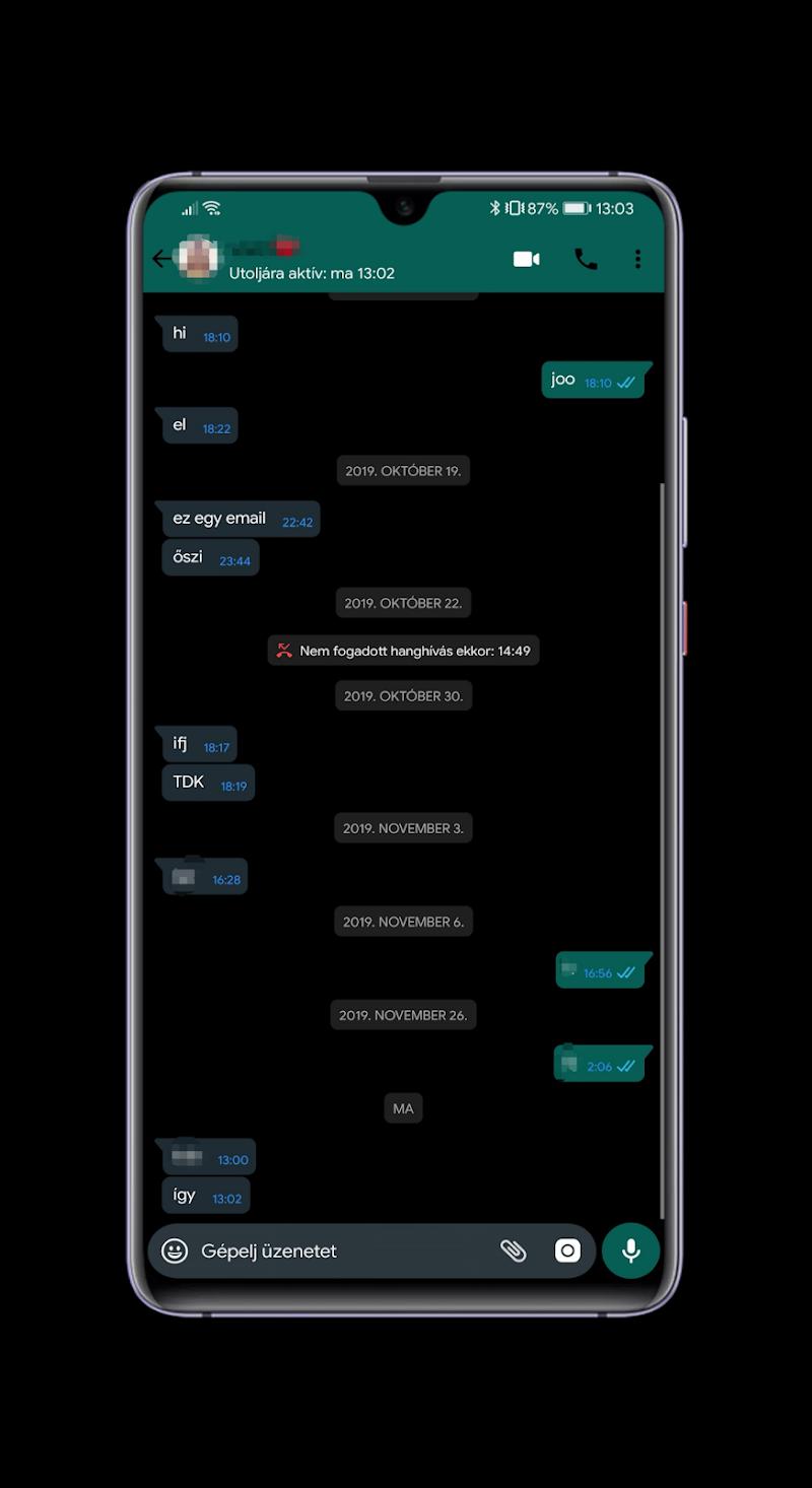Black Pie Theme for EMUI 9 / 9.1 Huawei/Honor Screenshot 9