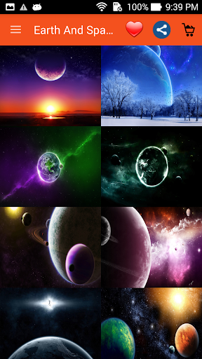 Earth And Spaces Wallpapers