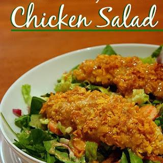 Crusted Honey Mustard Chicken Salad.