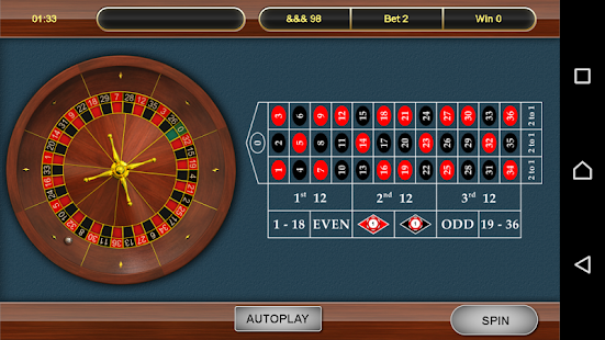 European Roulette- screenshot thumbnail
