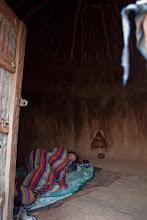 Photo: Morning in the Himba Village / Ráno ve vesnicí Himbů