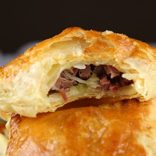 Corned Beef & Cabbage Turnovers.