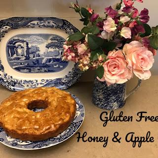 Gluten Free Honey & Apple Cake.