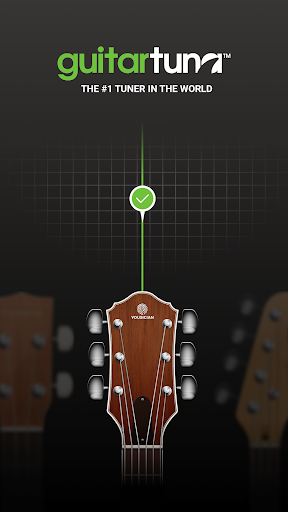 Screenshot for GuitarTuna - Tuner for Guitar Ukulele Bass & more! in United States Play Store