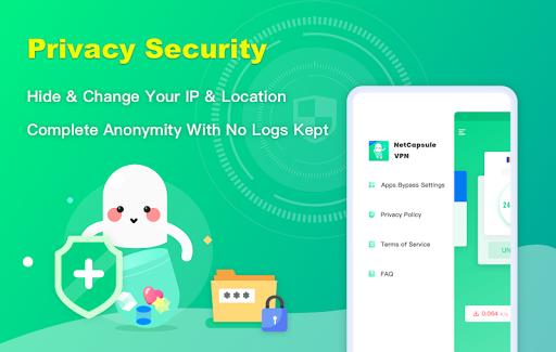 NetCapsule VPN   Free VPN Proxy, Fast VPN, Unblock screenshot 5