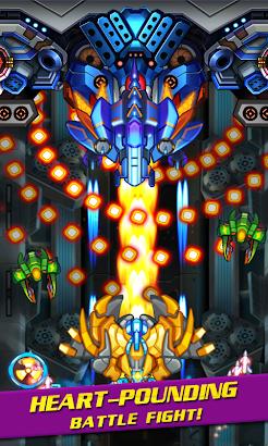 Aircarft shooting combat screenshot