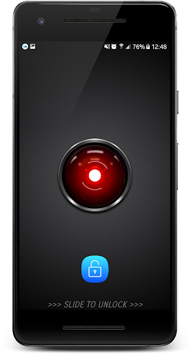 Face scanner Lock Screen - iris-eye 1.5 androidtablet.us 2