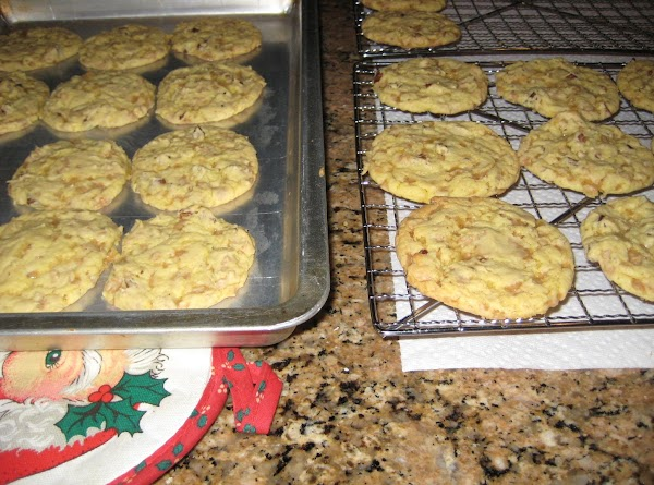Spoon onto ungreased cookie sheet and bake at 350* for 10 minutes for small...