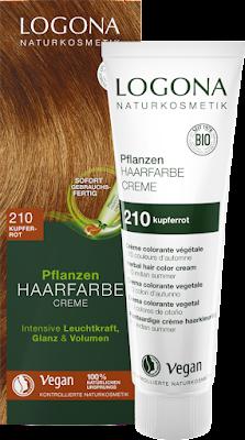 Herbal Hair Colour Cream 210 Copper Red 150 ml