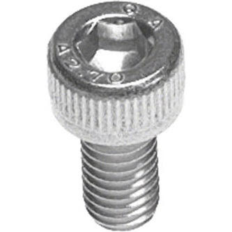 Tree Fort Bikes 5x10mm Stainless Hex Head Bolt Bag of 20