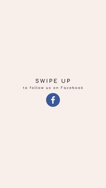 Follow Us On Facebook - Facebook Story Template