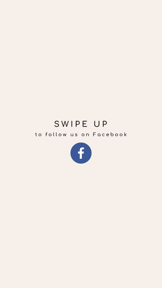 Follow Us On Facebook - Facebook Story Template