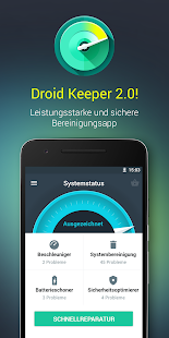 Droid Keeper 2.0 Screenshot