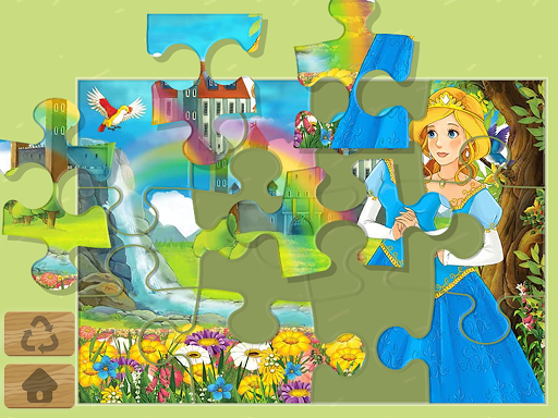 Princess Puzzles and Painting Apk 1