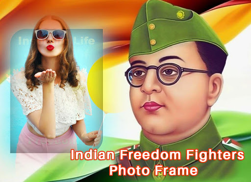 Indian Freedom Fighter Photo Frame 1.1 screenshots 2