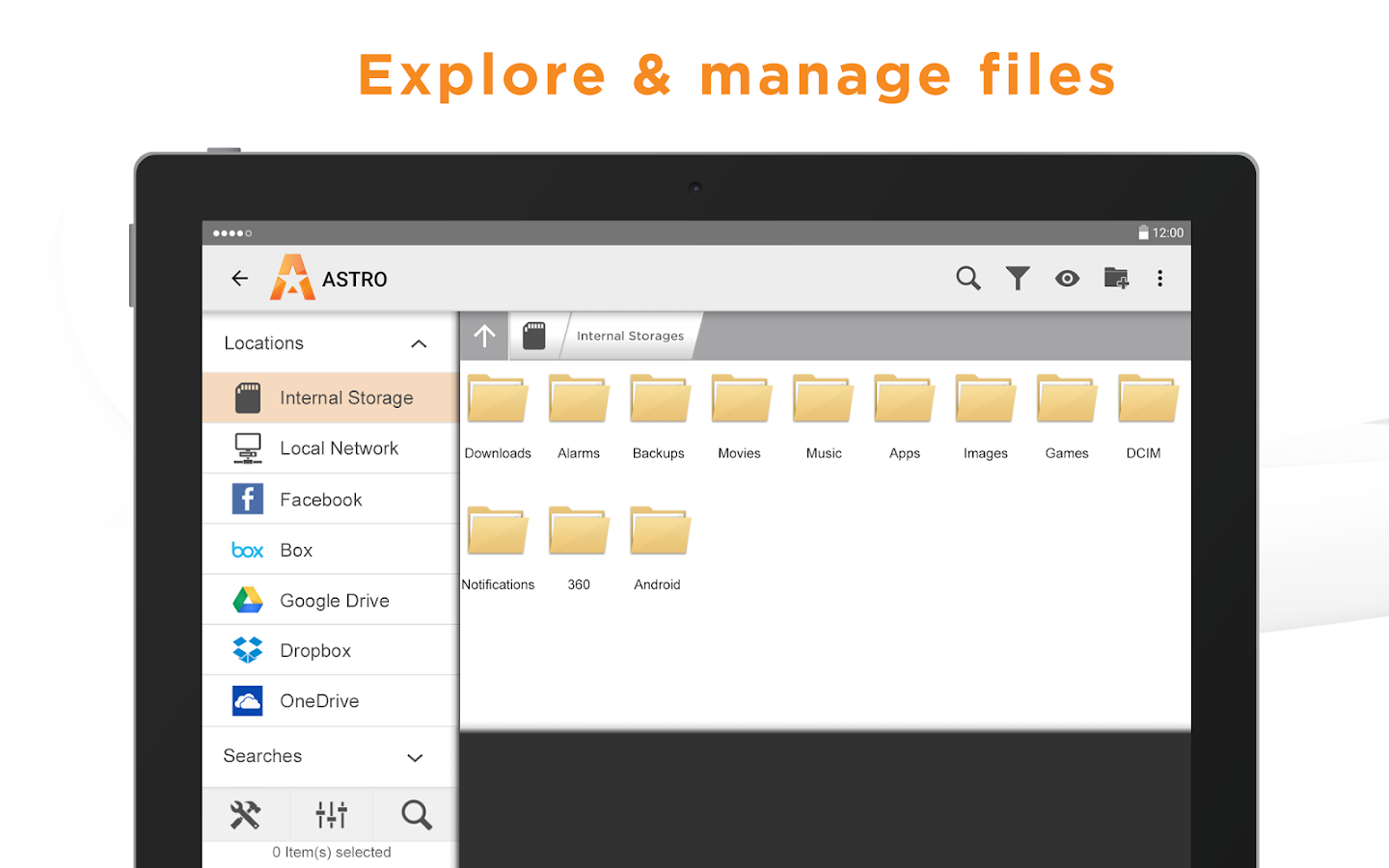 Astro File Manager (File Explorer)- screenshot