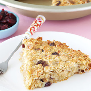Cranberry Cottage Cheese Baked Oatmeal.