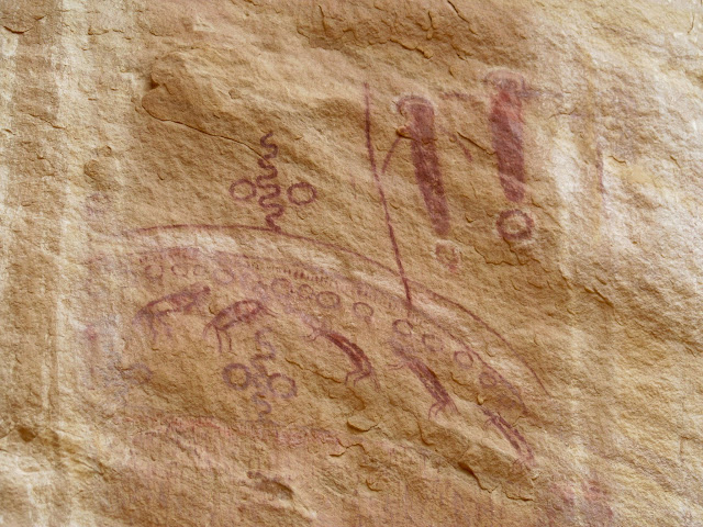 Amazing pictographs