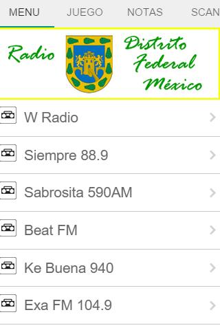 Radio Distrito Federal México
