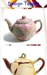 Design Teapot - náhled