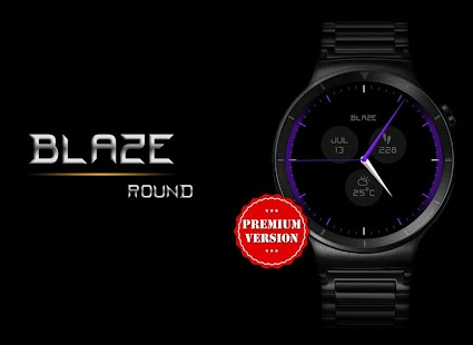 Watch Face - Blaze Interactive - náhled