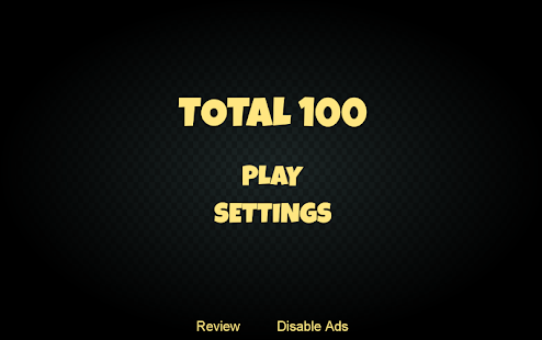TOTAL100 Free- screenshot thumbnail