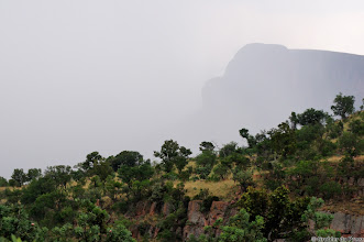 Photo: Heavy rain approaching, Marakele National Park, South Africa.