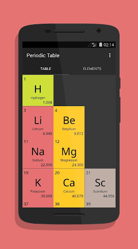 periodic table apkpure images periodic table and sample with full periodic table pro apk free image - Periodic Table Pro Apk Free