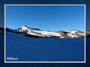 Photo: Roc du Mulinet et Glaciers des Sources de l'Arc