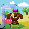 Dog Kid Game Number and Math icon