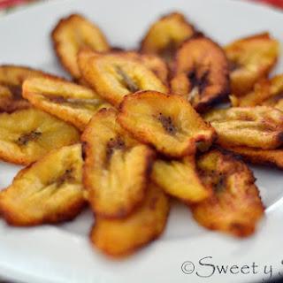 Tajadas (Sweet Plantain Slices)
