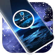 Moonlight Clock Live Wallpaper