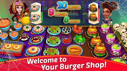 Halloween Cooking: Chef Madness Fever Games Craze 1.4.8 screenshots 1