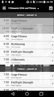 5 Elements MMA and Fitness- screenshot thumbnail