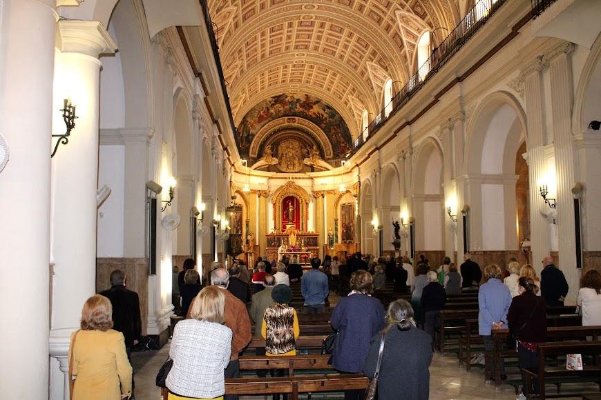 Miércoles de Ceniza en las iglesias de la capital.