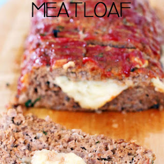 Cheese Stuffed Meatloaf.