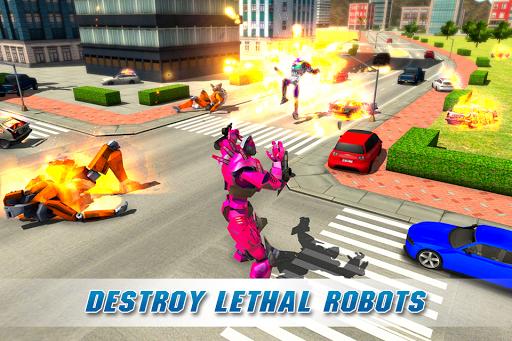 Real Robot Crocodile Simulator- Robot transform 1.0.12 Screenshots 3