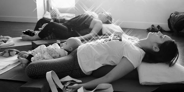 Yoga postnatal avec bébé (session de 8 semaines)