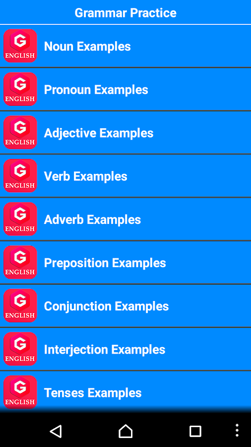 Free English Grammar- screenshot