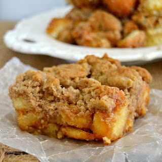 Donut Coffee Cake Crumble Bars