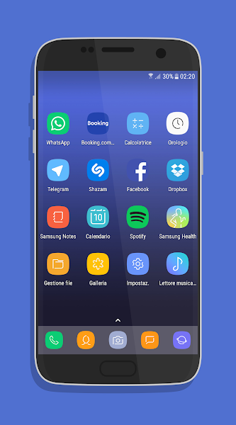 UX Experience S8 – Icon Pack v0.2(beta)