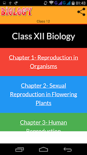 Class 12 Biology Solutions - náhled