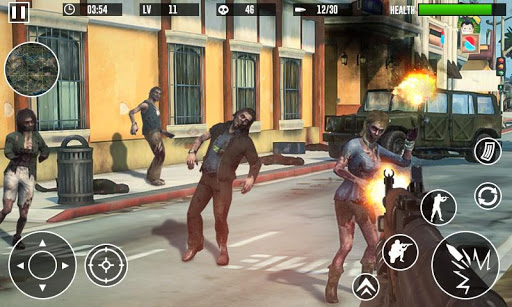 Zombie Invasion Dead Hunter Last Survival 3D 1.02 screenshots 1