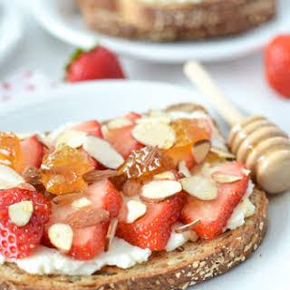 Strawberry Ricotta Breakfast Toast.